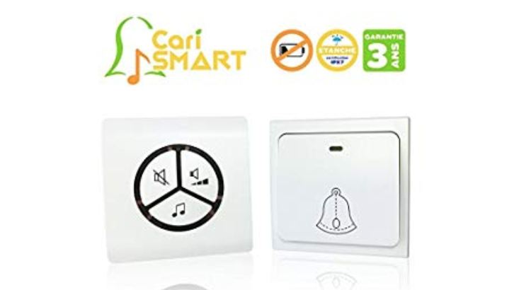 La sonnette sans fil CariSmart : meilleur produit de notre comparatif