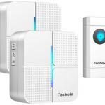 Avis et Test de la sonnette sans fil Techole 300M Carillon avec 2 récepteurs