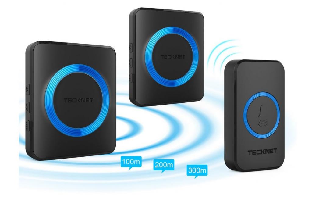 TechNet : une sonnette sans fil qui propose une très longue portée